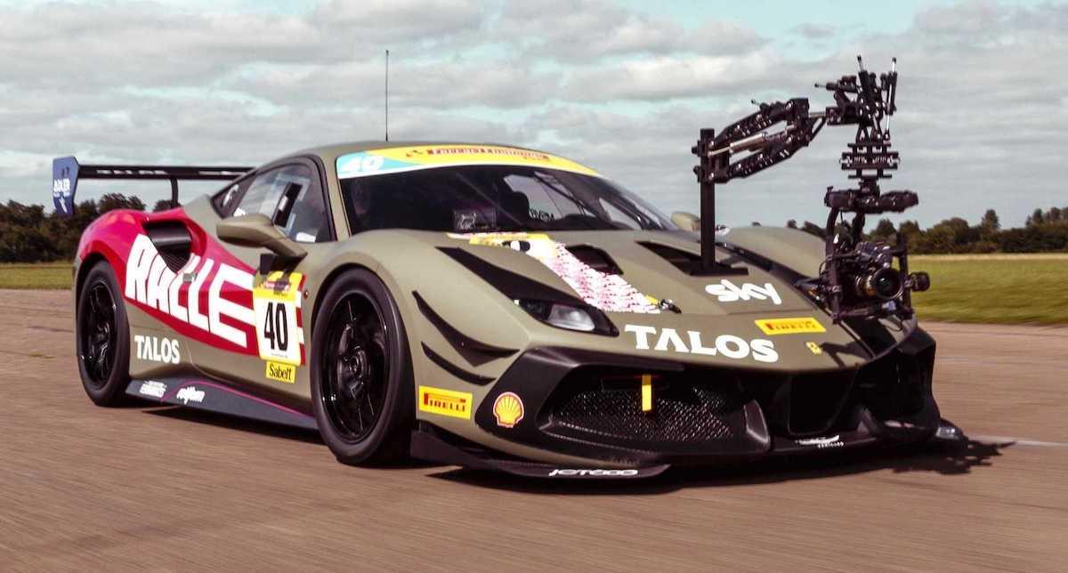 Ferrari 488 Challenge Ralle Camera Car