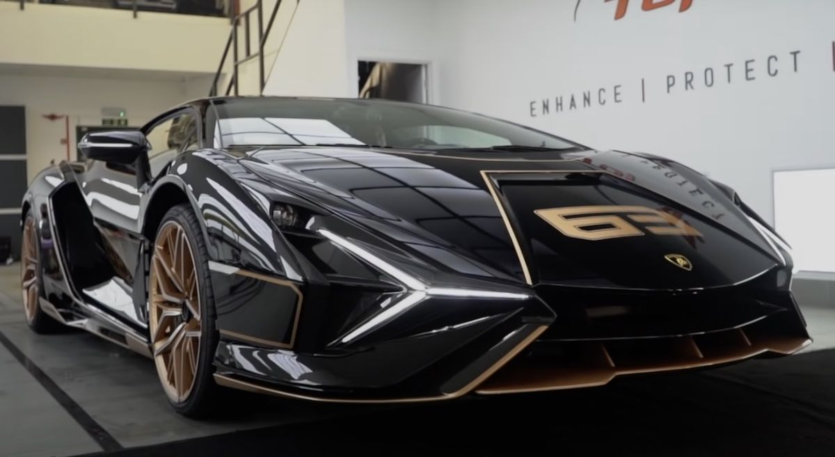 Lamborghini FKP 37 Sian