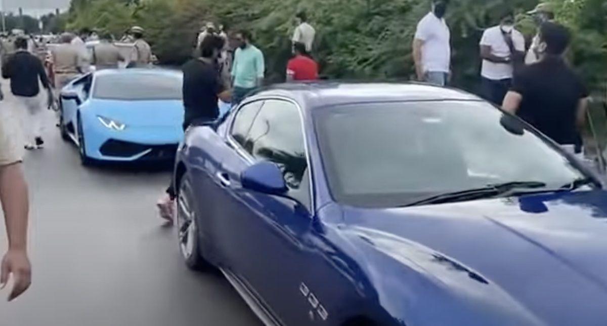 Lamborghini Huracan Maserati GranTurismo