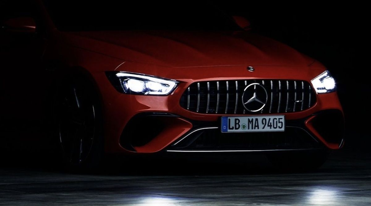Mercedes-AMG GT 4-drzwiowe Coupe