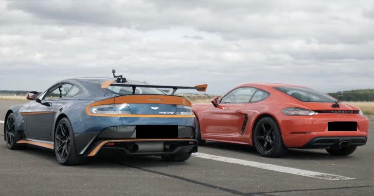 Porsche 718 Cayman Aston Martin GT8