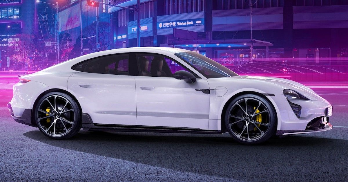 Porsche Taycan TechArt e-Athlete