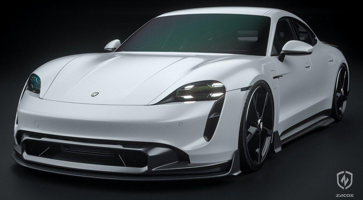 Porsche Taycan Zacoe