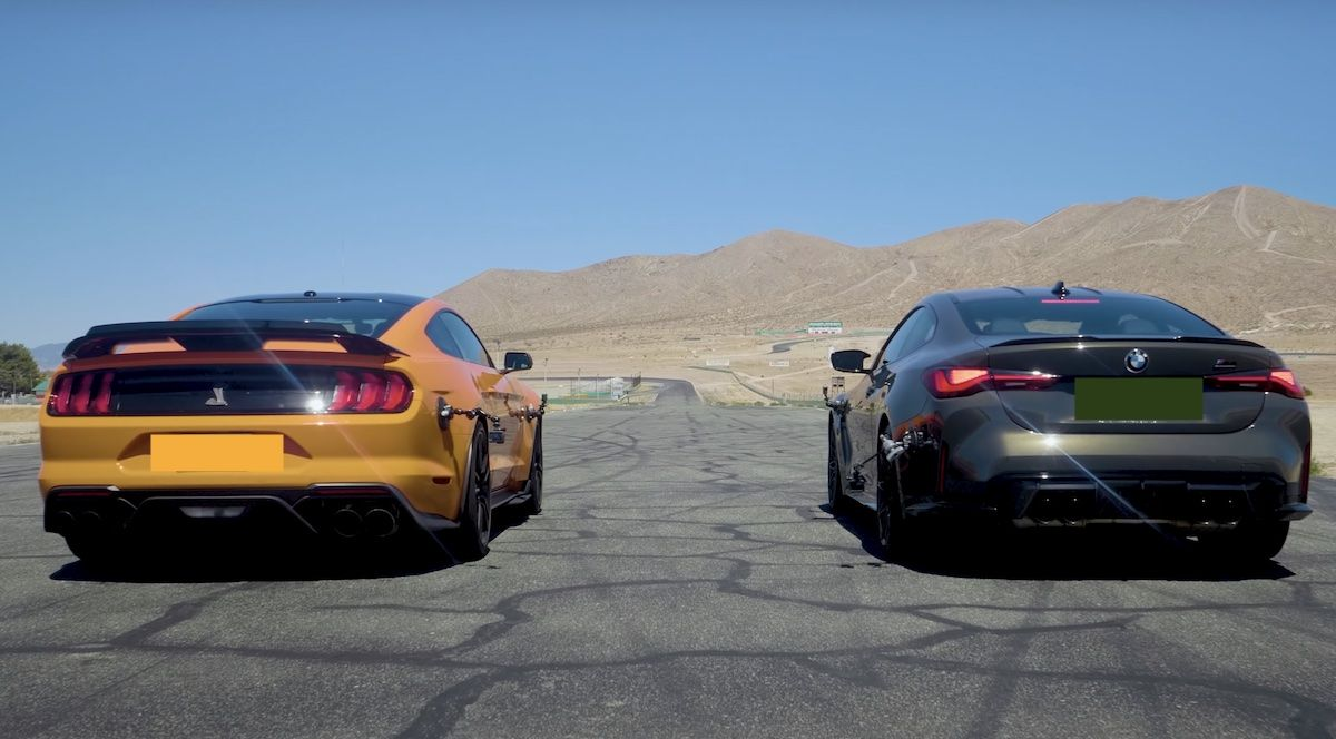 Shelby Mustang GT500 BMW M4 Competition