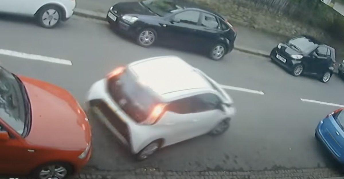 Toyota Aygo parkowanie
