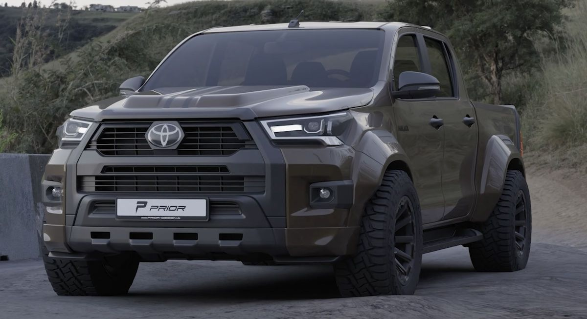 Toyota Hilux Prior Design