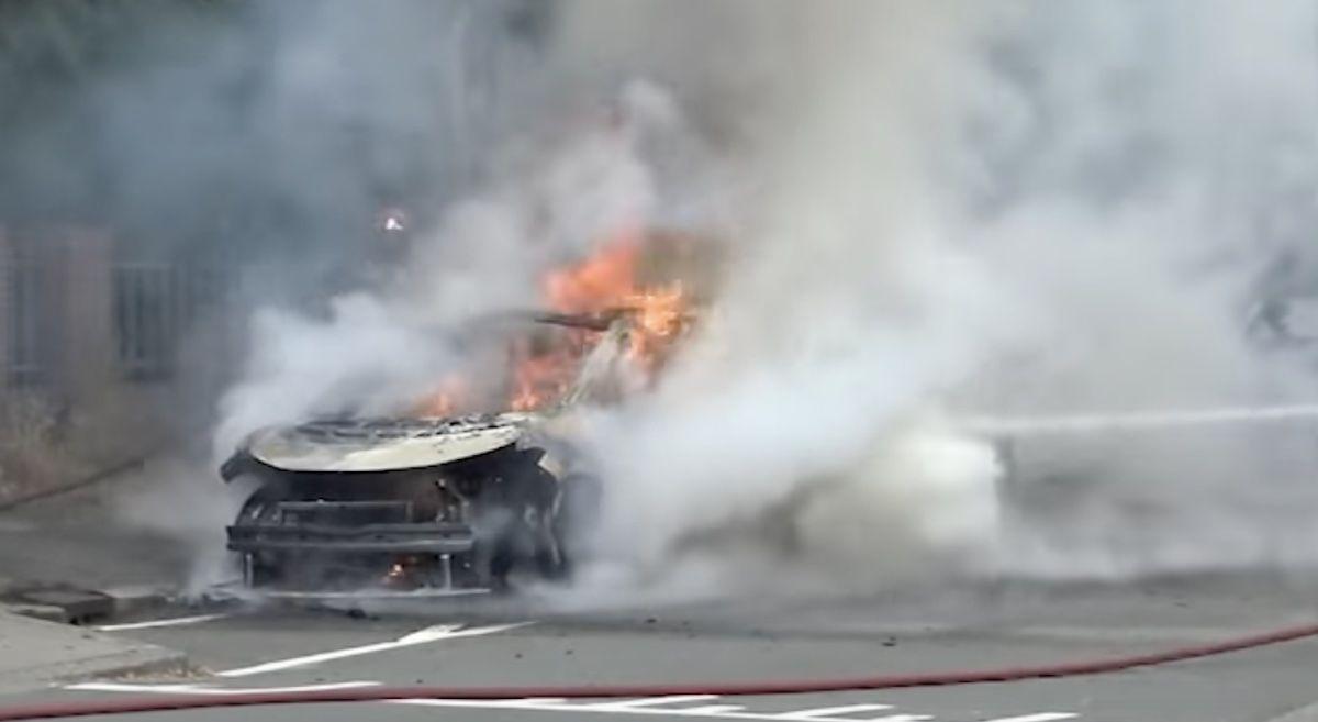Volkswagen ID.3 pożar