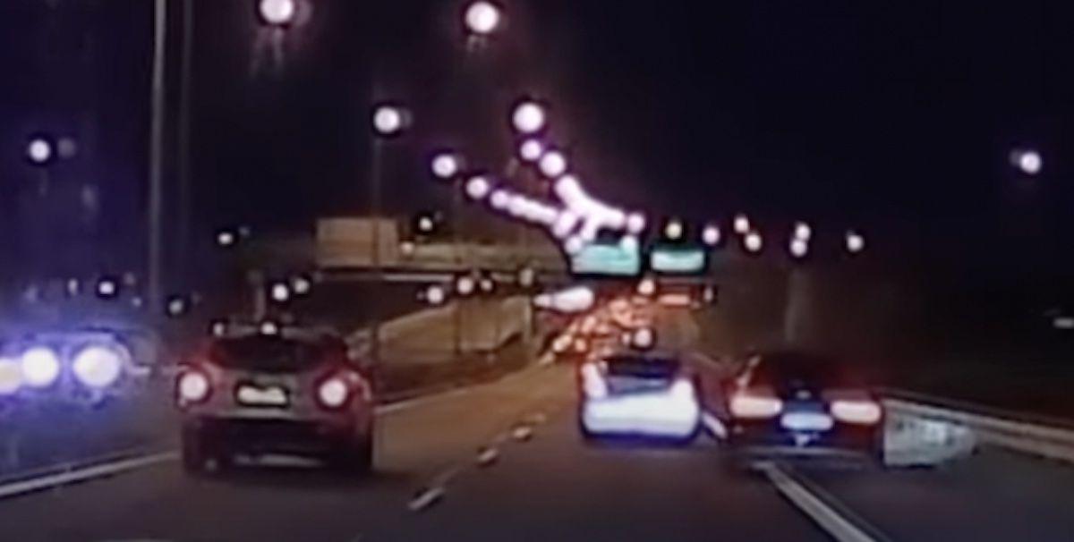 Audi A6 C7 - niebezpieczne wyprzedzanie