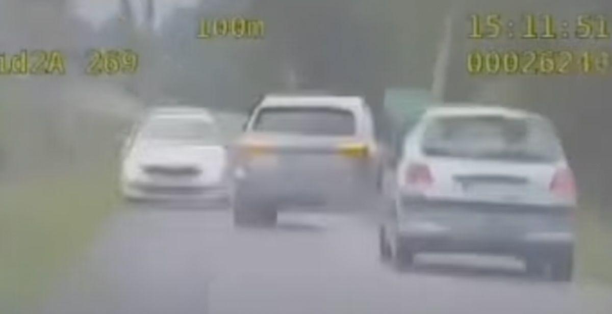 Audi Q5, pościg policyjny w Polsce