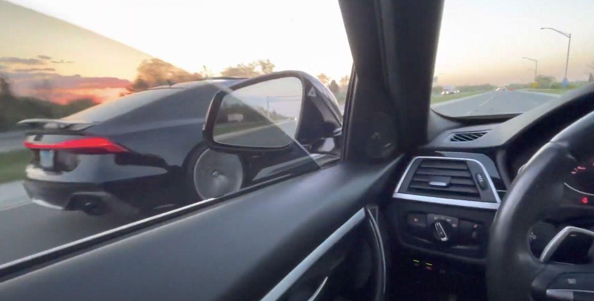Audi RS7 vs. BMW 340ix, pojedynek