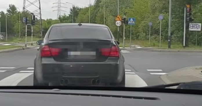 BMW M3 E90 - pokaz driftu