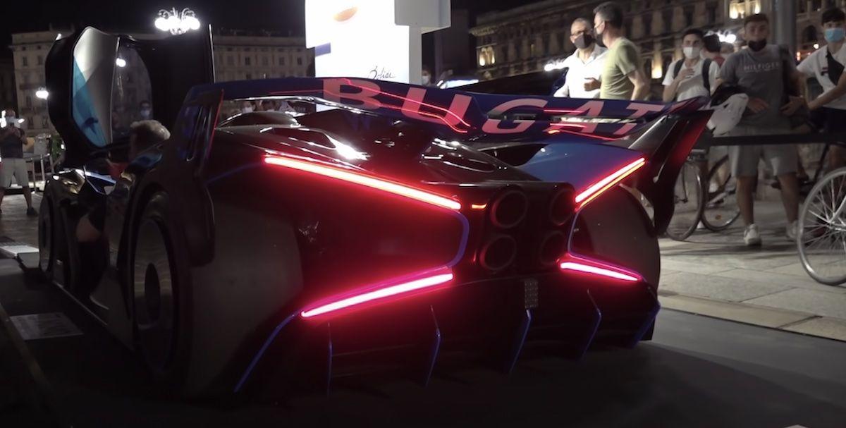 Bugatti Bolide - odpalanie