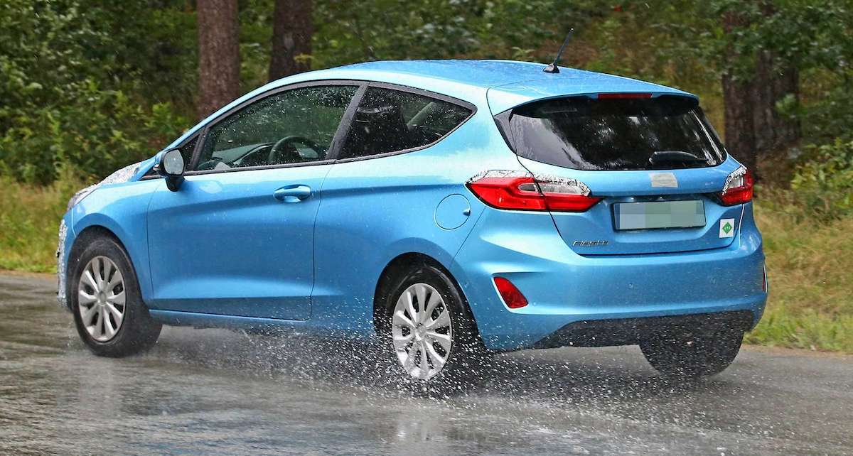 Ford Fiesta (2022) lifting, prototyp