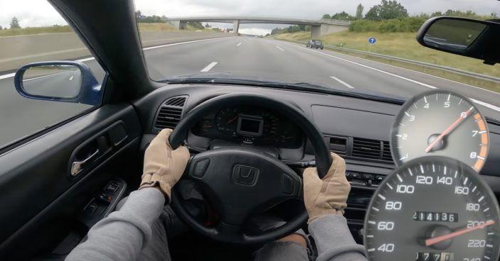 Honda Prelude - wnętrze