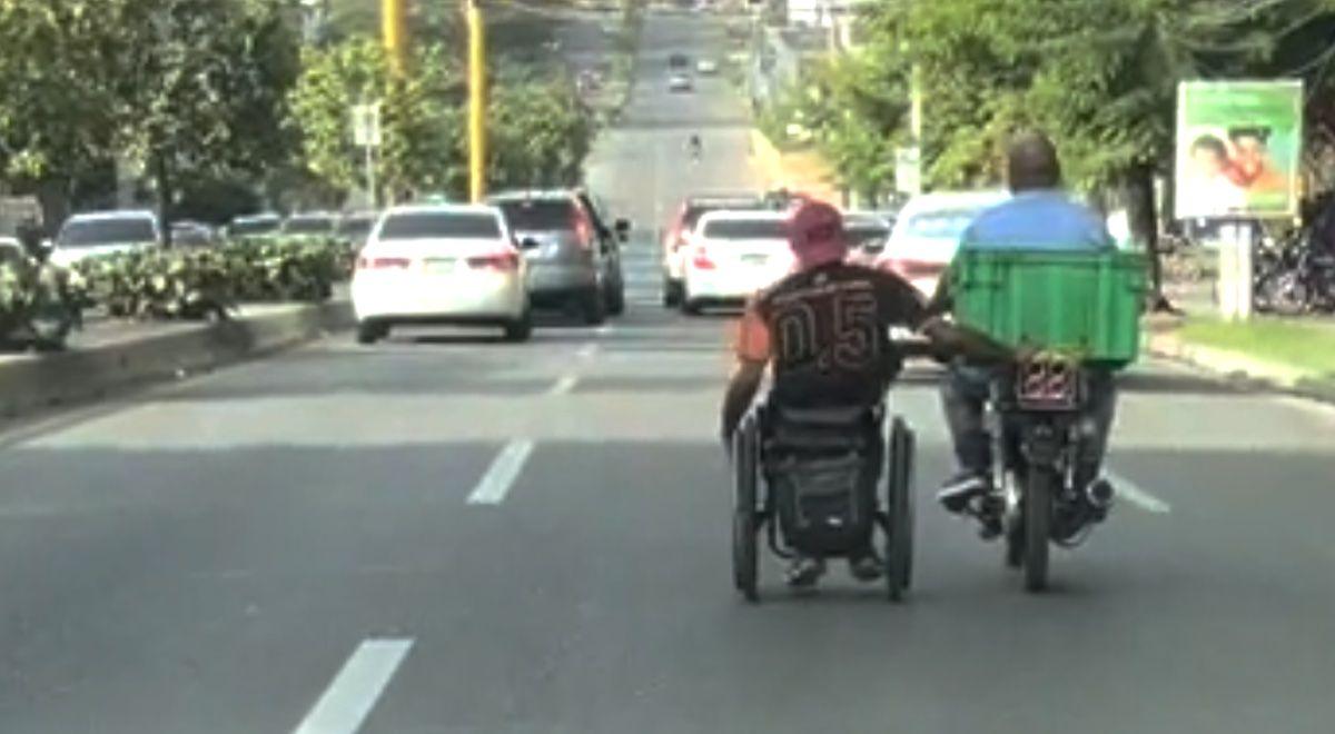 inwalida w korku