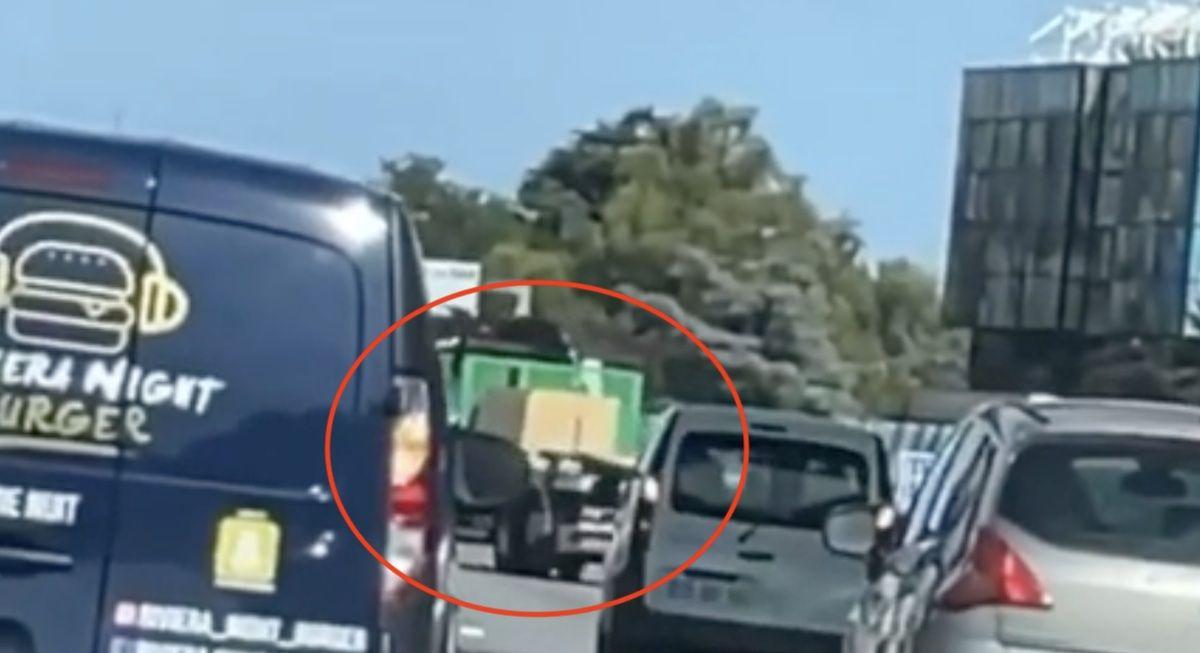 pijany kierowca ciężarówki