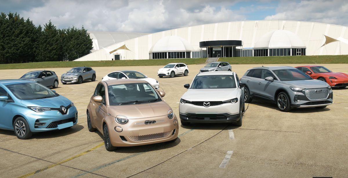 porównanie aut elektrycznych