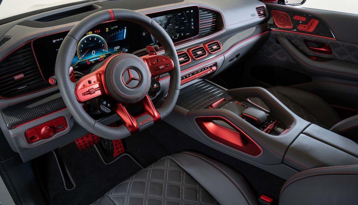 Brabus 900 Rocket Mercedes-AMG GLE 63 S Coupe 4MATIC+