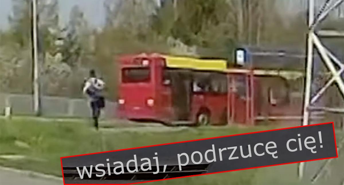 spóźnienie na autobus