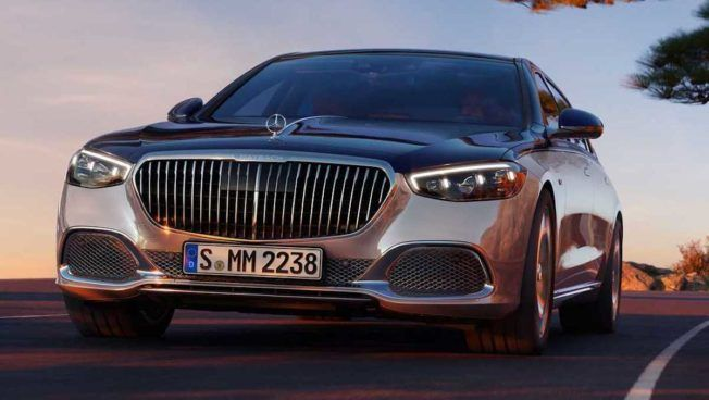2022 Mercedes-Maybach S 680 4MATIC Edition 100