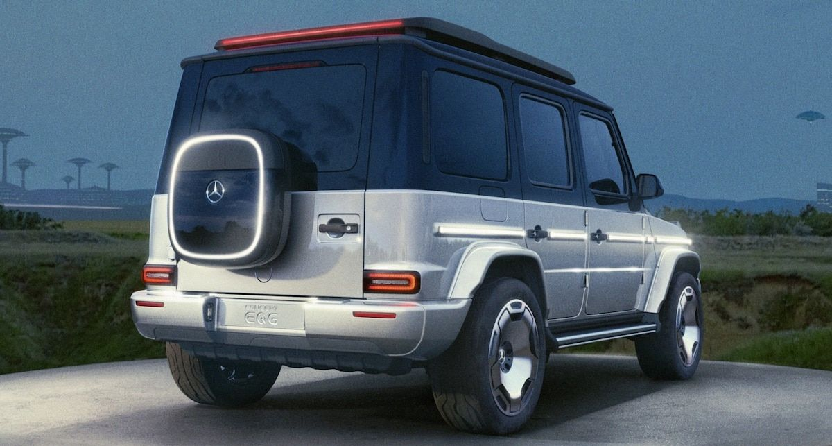 2023 Mercedes-Benz EQG Concept