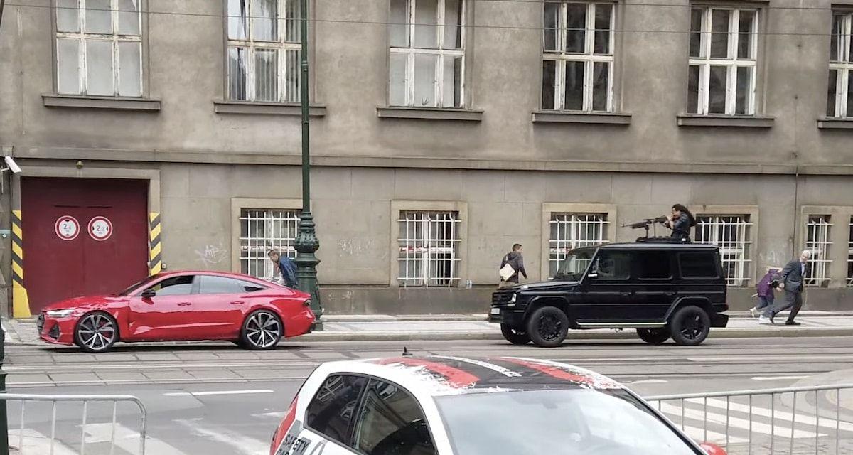 Audi RS7 Mercedes Klasy G