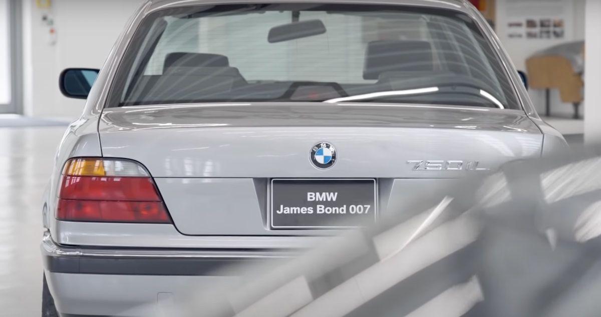 BMW 750iL e38 James Bond
