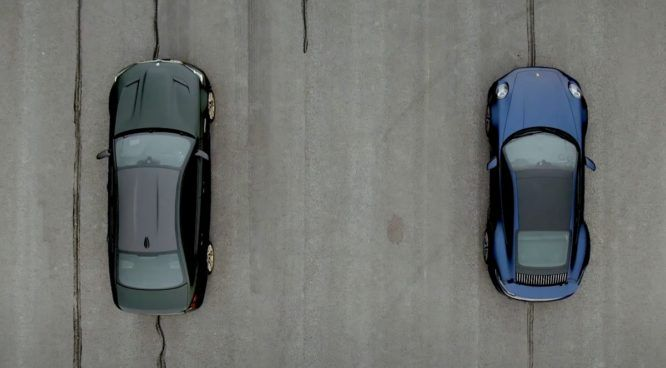 BMW M5 CS Porsche 911 Turbo