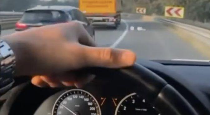 BMW omijanie korka