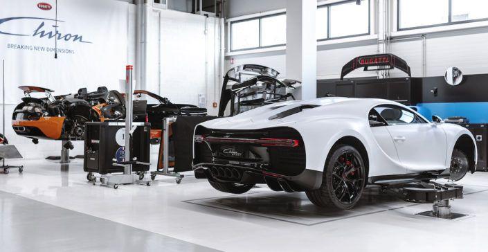 Bugatti Chiron serwis