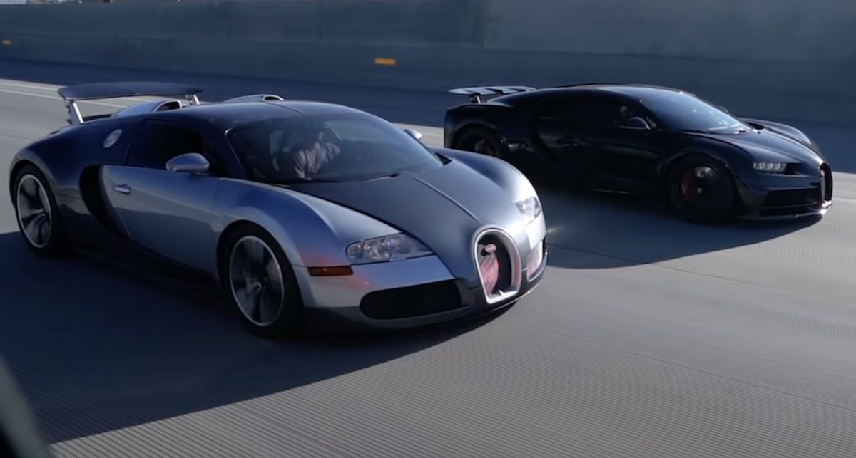 Bugatti Veyron Bugatti Chiron