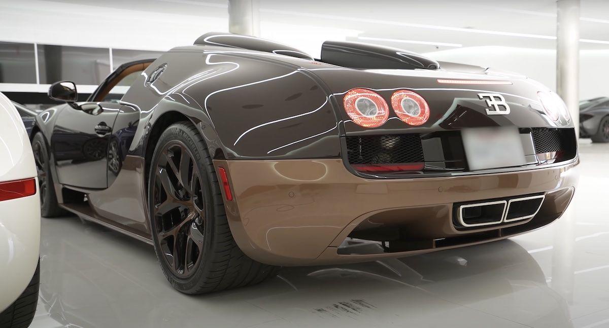 Bugatti Veyron Grand Sport Vitesse Rembrandt Legend