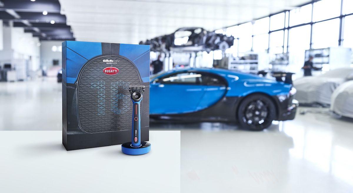 Bugatti maszynka Gillette