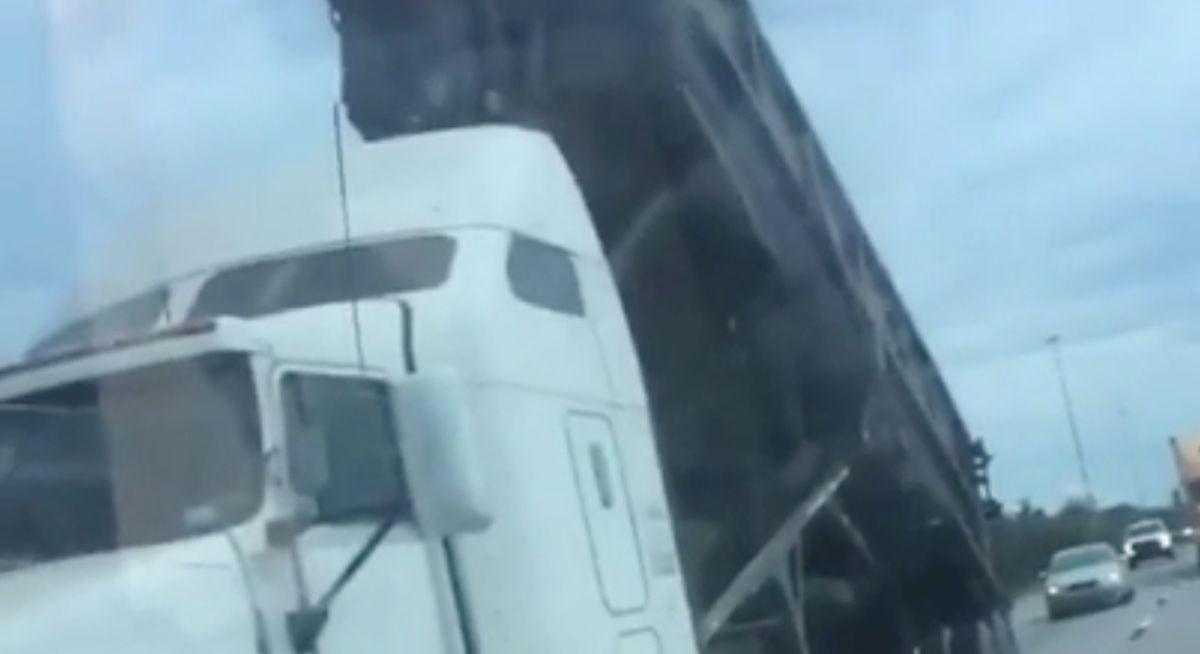 Ciężarówka wywrotka