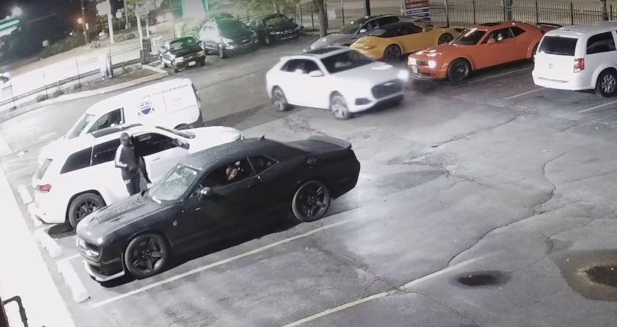 Dodge Challenger Hellcat kradzież