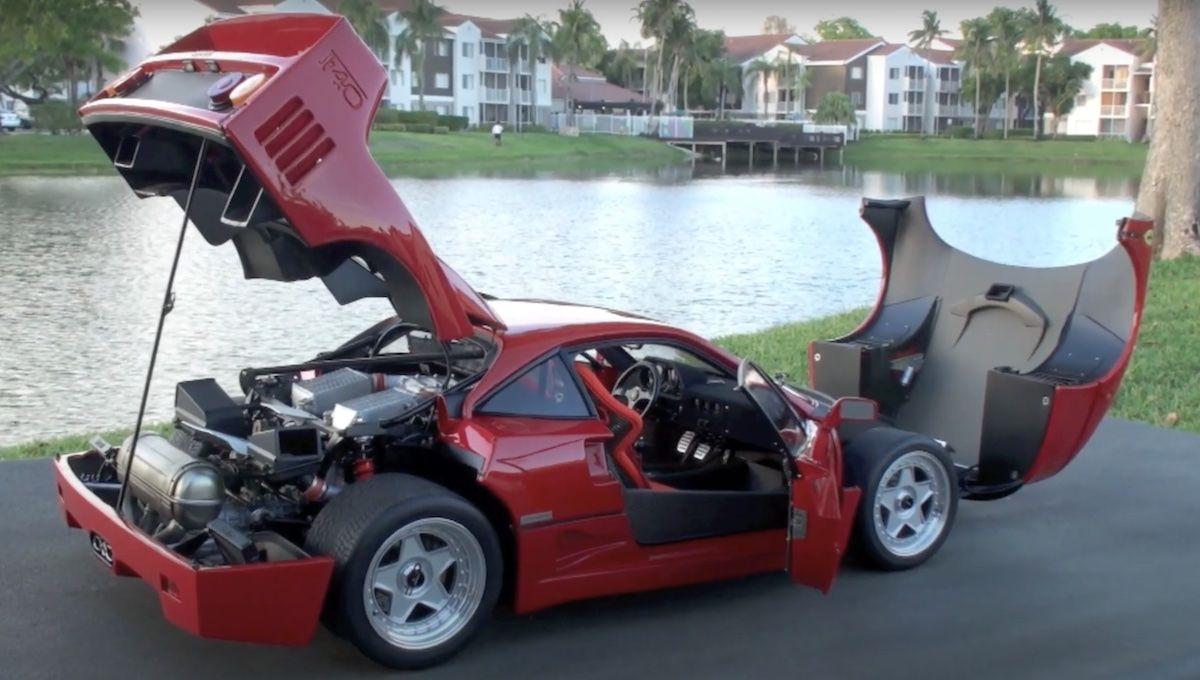 Ferrari F40 Amalgam Collection