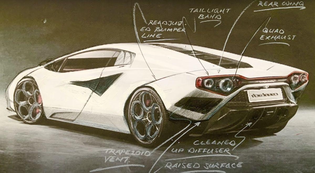 Lamborghini Countach Frank Stephenson