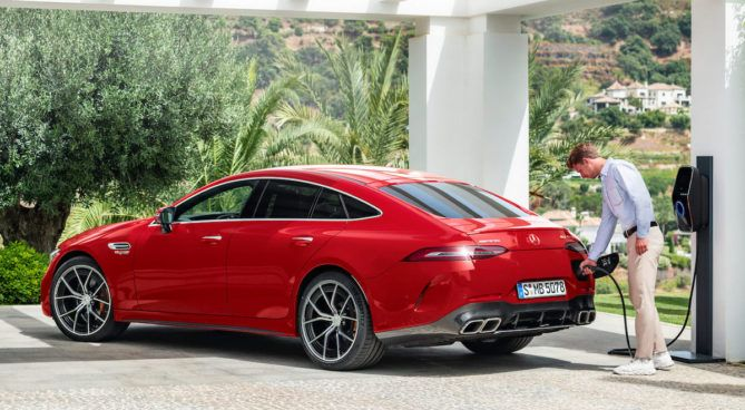 Mercedes-AMG GT 63 S E Performance 4-Drzwiowe Coupe