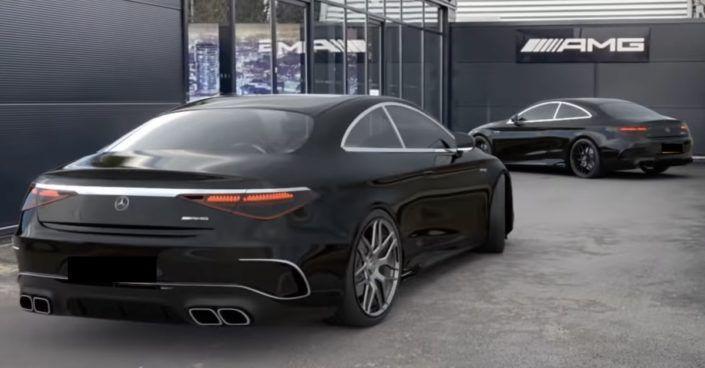 Mercedes-AMG Klasy S Coupe