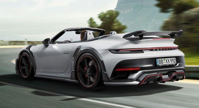 Porsche 911 Turbo S TechArt GTstreet R Cabrio