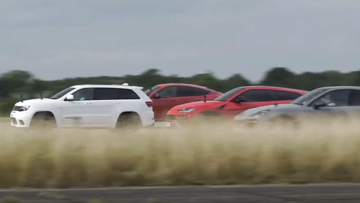 Porsche Cayenne Turbo GT Lamborghini Urus