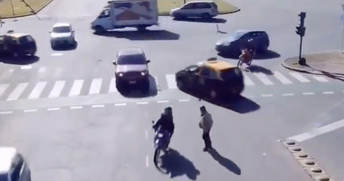 skrzyżowanie bez sygnalizacji