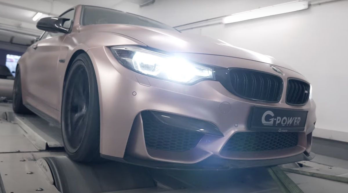 BMW M4 F82 G-Power