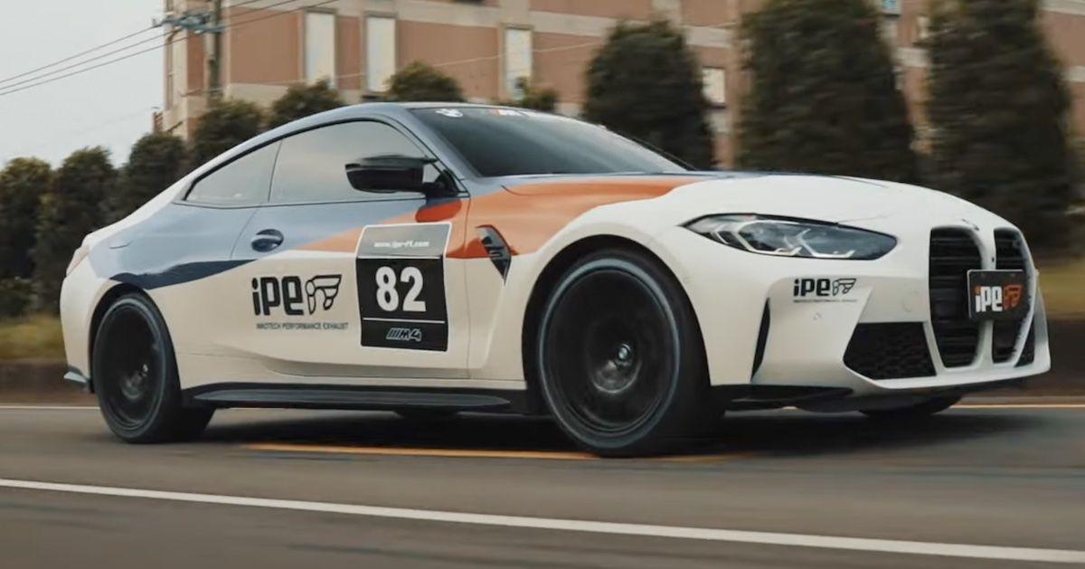 BMW M4 iPE Exhaust