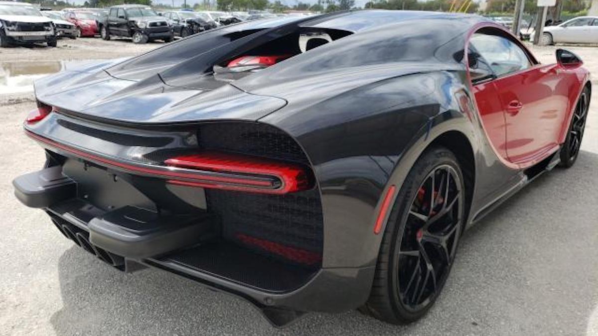 Bugatti Chiron Copart