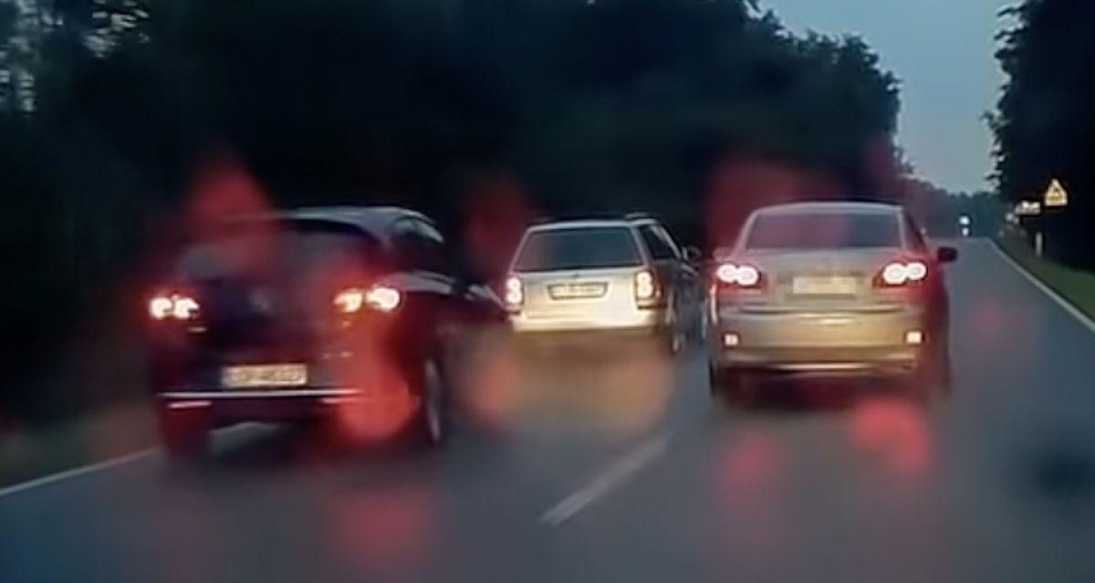 Lexus IS obywatelskie zatrzymanie