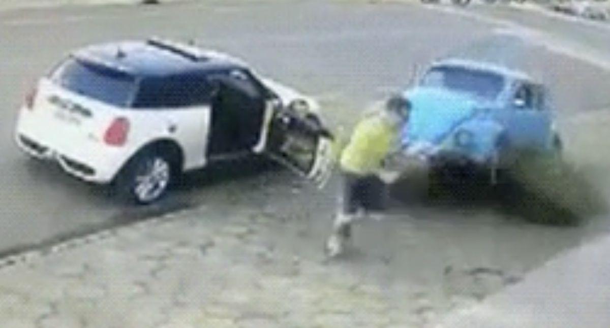 MINI Cooper Volkswagen Garbus