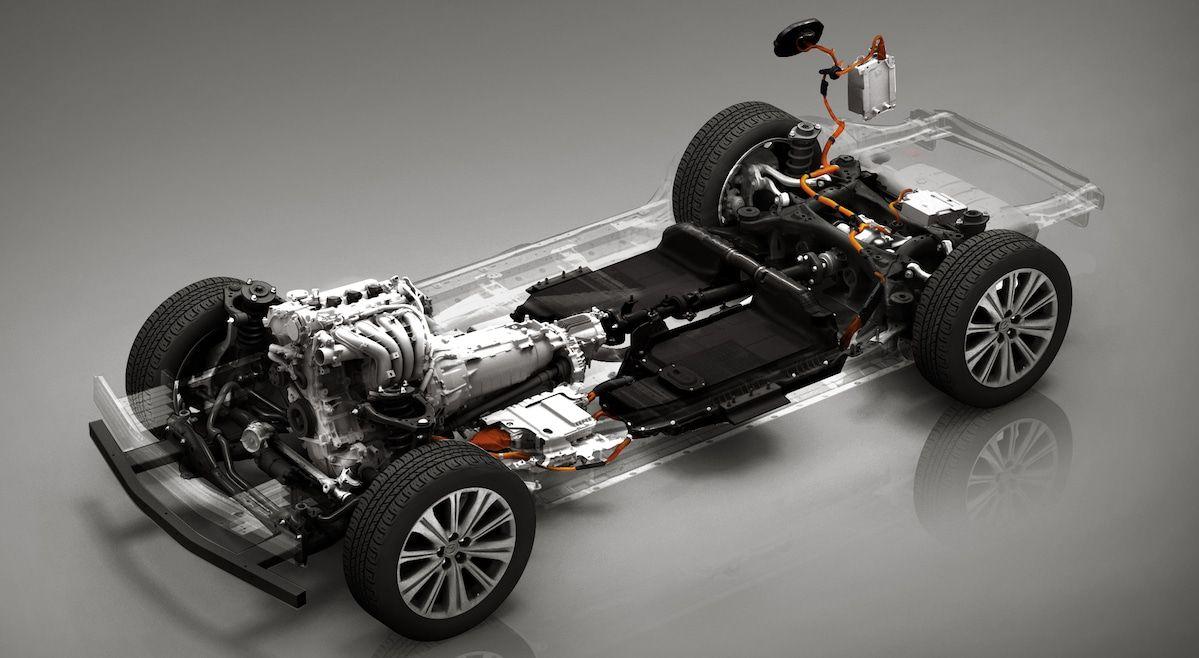 Mazda PHEV Benzyna