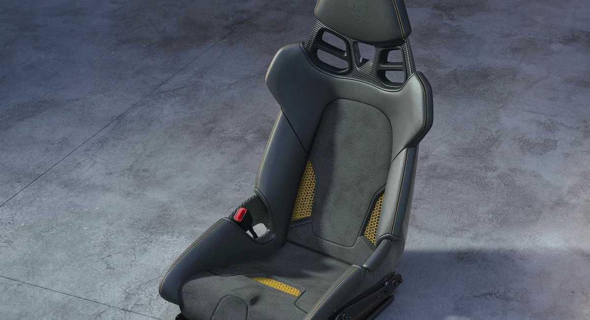 Porsche fotel z drukarki 3D