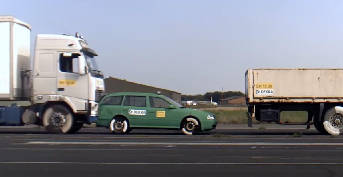 Skoda Octavia ciężarówka
